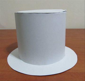 como hacer un sombrero de mago con cartulina
