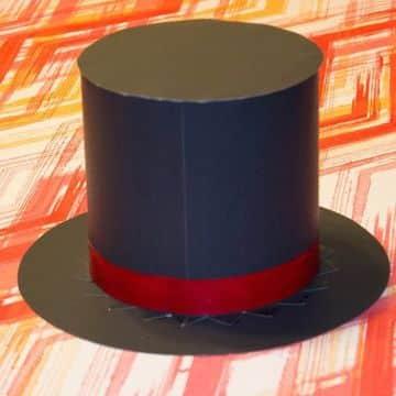 como hacer un sombrero de mago facilmente
