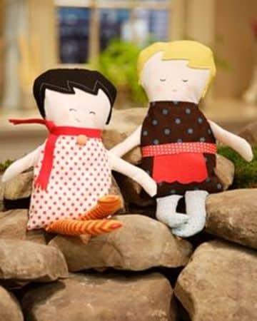 como hacer una muñeca de trapo facil para niñas