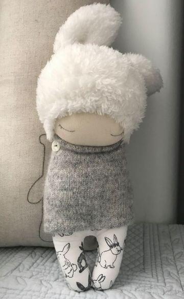 como hacer una muñeca de trapo facil y sencilla