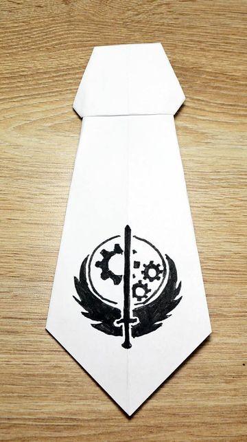 imagenes de corbatas de papel con impresion