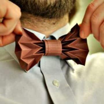 imagenes de corbatas de papel craft