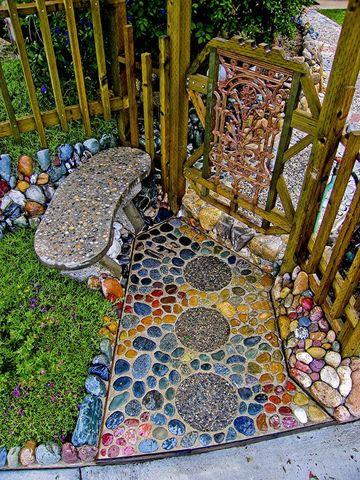 piedras para decorar jardines y entradas