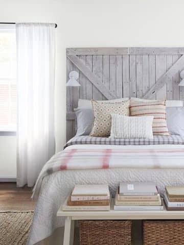 camas con tarimas de madera estilo nordico