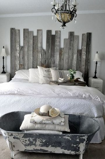 camas con tarimas de madera recicladas
