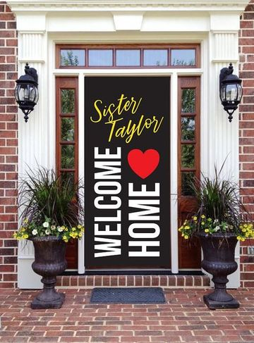 carteles de bienvenida a casa para la puerta
