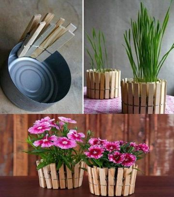 latas de atun decoradas para materos