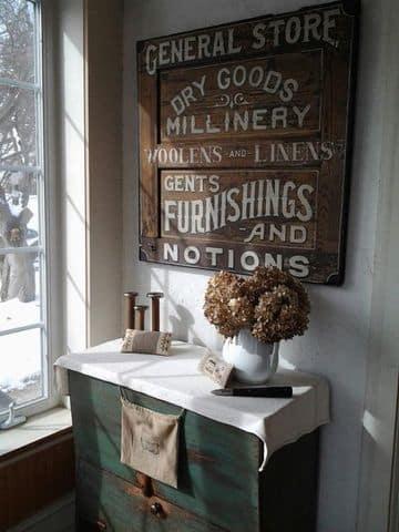 letreros de madera vintage ds tiendas