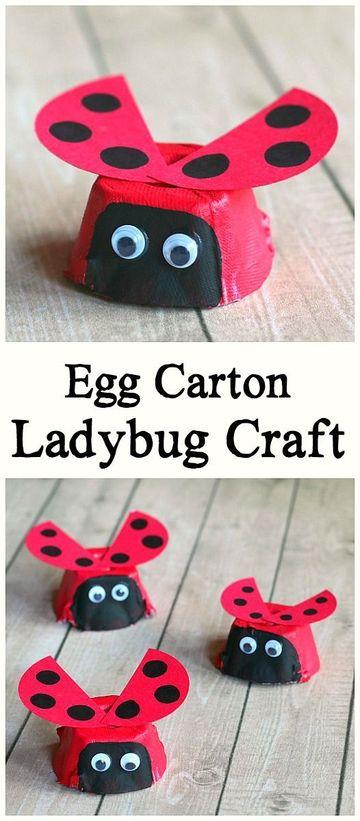 manualidades con carton de huevo faciles y bonitas