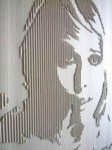 manualidades con papel corrugado que son obras de arte