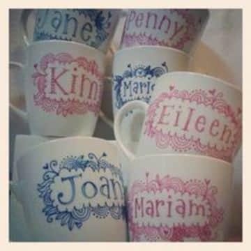 tazas de ceramica decoradas personalizadas