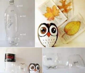 trabajos con botellas de plastico faciles