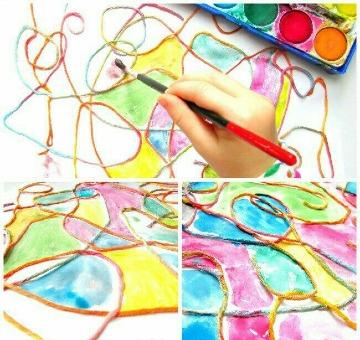 actividades de pintura para niños de primaria
