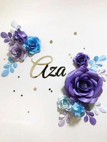 adornos con flores de papel como hacer