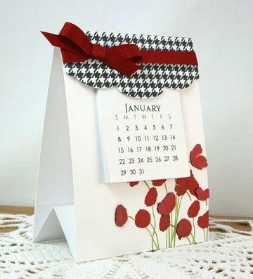calendario hecho a mano bonitos