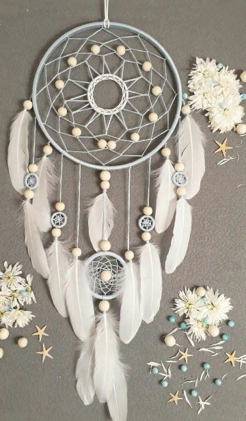 como hacer atrapasueños indios artesanales