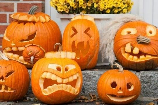 diseños de calabazas para halloween originales