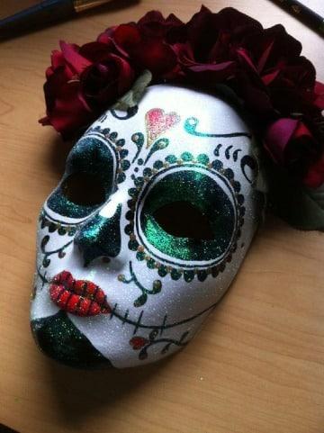 diseños de mascaras de calaveras mexicanas