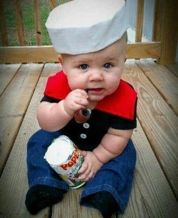 disfraces de halloween para bebes de 6 meses