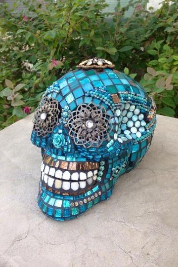 imagenes de calaveras decoradas mexicanas