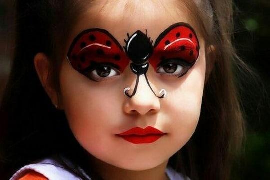 imagenes de caritas pintadas de niñas