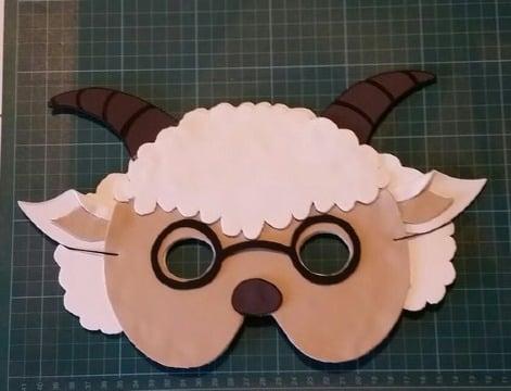 imagenes de mascaras de animales en foami