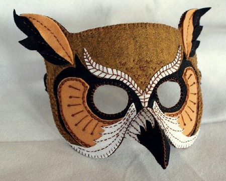 imagenes de mascaras de aves para niños