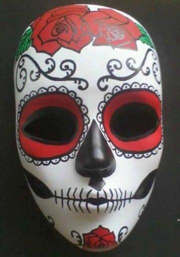 imagenes de mascaras de dia de muertos