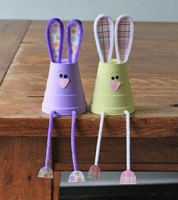 manualidades con vasos de plastico para niños