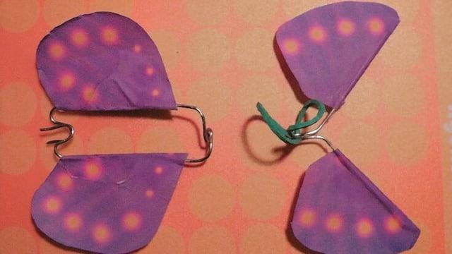 mariposas de papel que vuelan como hacerlas