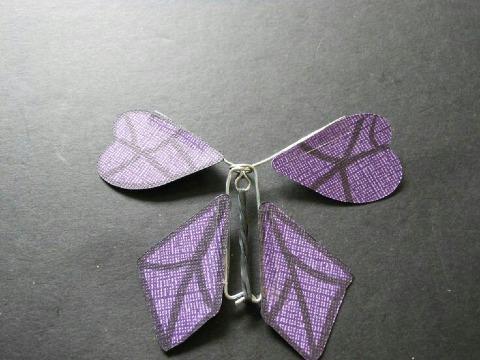 mariposas de papel que vuelan plantillas