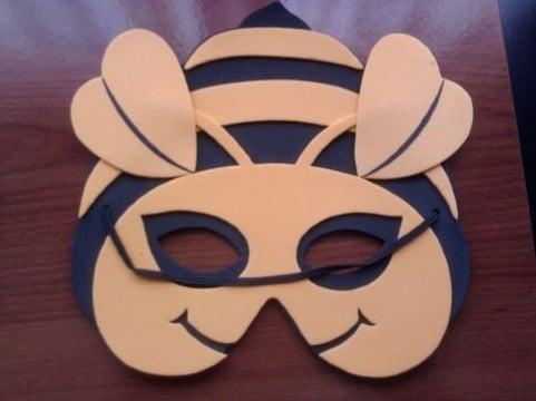 mascaras de animales en foami moldes