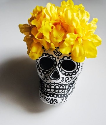 mascaras de calaveras mexicanas decoradas