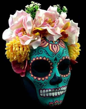 mascaras de dia de muertos mexicanas