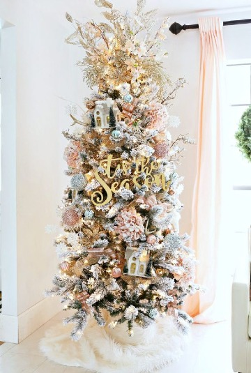 arboles navideños modernos sencillos