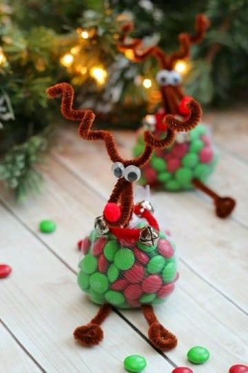 bolsitas de dulces navideñas faciles