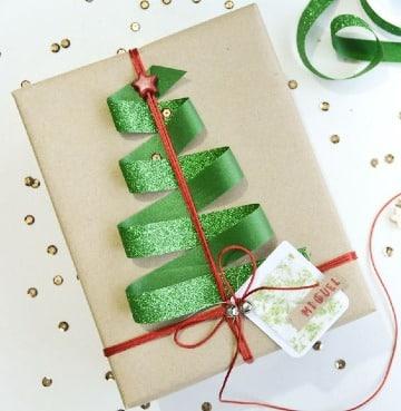como hacer adornos para regalos de navidad