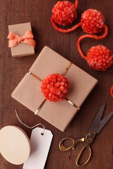 como hacer adornos para regalos faciles