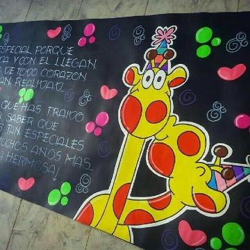 como hacer pancartas creativas de amor