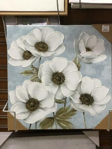 cuadros de flores grandes modernas