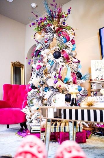 decoracion de arboles navideños modernos