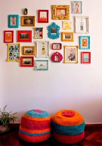 diseños de cuadros para fotos decoracion