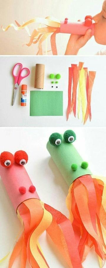 divertidos trabajos de reciclaje para niños