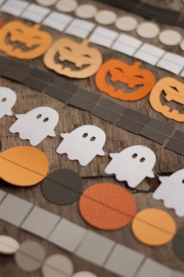 fantasmas de papel para halloween decoracion