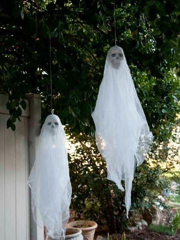ideas faciles para halloween decoracion
