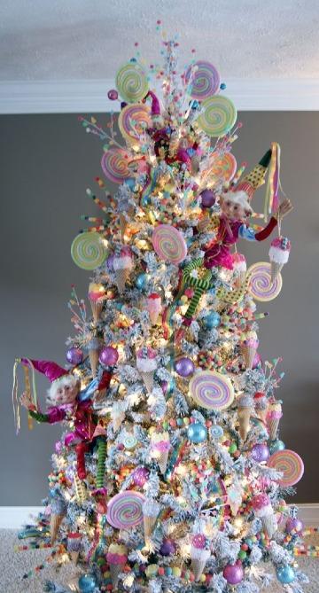 imagenes de arboles navideños modernos
