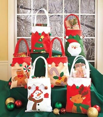 imagenes de bolsitas de dulces navideñas