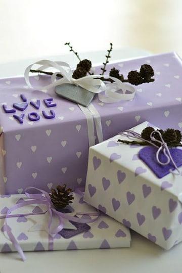 imagenes de como hacer adornos para regalos