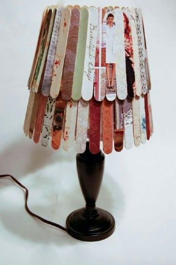 lamparas con paletas de helado sencillas