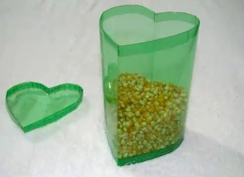 manualidades con tarros plasticos de gaseosas